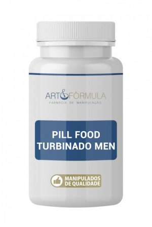 Pill Food Turbinado MEN 60 Cápsulas